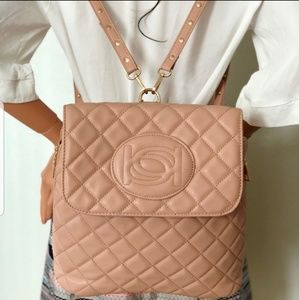bebe Quilted Olivia in Blush